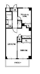 Grand toit(グラン トワ)[4階]の間取り