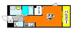 サニー・レジデンス 201号室[2階]の間取り
