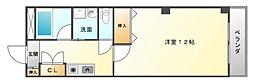 ハイムタケダT-10[4階]の間取り