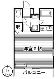 クレッシェンド,[2階]の間取り