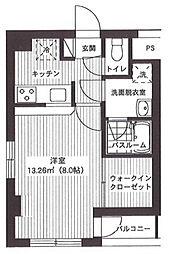 サンライズレジデンス[7階]の間取り