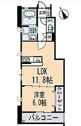 新築上里3丁目A様賃貸集合住宅 1階[102号室]の間取り