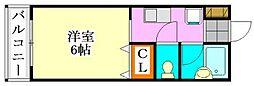 ピュアメゾンT&Y[302号室]の間取り