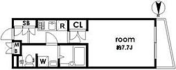 ディム三軒茶屋[3階]の間取り