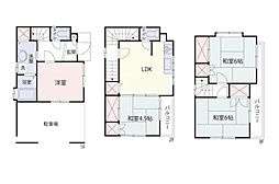 一戸建て(狭山ヶ丘駅から徒歩16分、86.11m²、880万円)