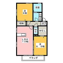MKM II[1階]の間取り