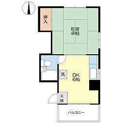 つたやマンション[3階]の間取り