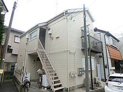 東京都府中市清水が丘3丁目の賃貸アパートの外観