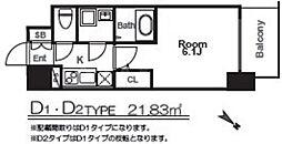 エスリード福島グレイス[8階]の間取り