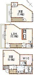 [テラスハウス] 東京都杉並区南荻窪3丁目 の賃貸【東京都 / 杉並区】の間取り