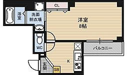 ルミエール新大阪[10階]の間取り