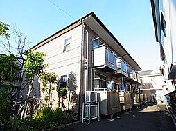 東京都足立区舎人3丁目の賃貸アパートの外観