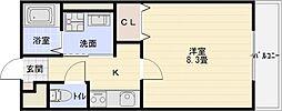 ラ・カーサ[1階]の間取り