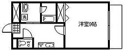 アーバン高塚橘通東ビル[801号室]の間取り