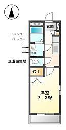 愛知県名古屋市北区中切町4の賃貸マンションの間取り