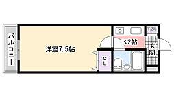 TWIN HOTARUNOII[308号室]の間取り