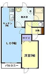 ファンタジアIII[201号室]の間取り