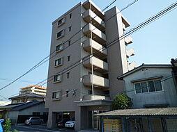 岡山県倉敷市幸町の賃貸マンションの外観