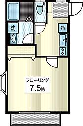 クローバーリーフ[1階]の間取り