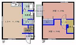 [一戸建] 茨城県ひたちなか市高場5丁目 の賃貸【/】の間取り