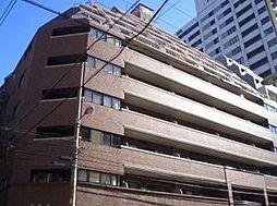 ライオンズマンション四ツ橋[8階]の外観