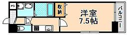 兵庫県伊丹市南本町6丁目の賃貸マンションの間取り