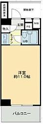 武蔵野ビューハイツ[3階]の間取り