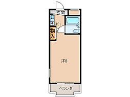 シスターキャンパス[1階]の間取り
