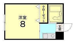 Casa Coraggio[105号室]の間取り