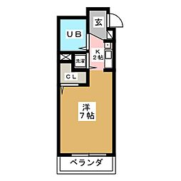 パールハイツカトウ[3階]の間取り