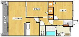 コモド・パラッツォ[4階]の間取り