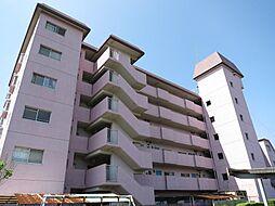 福岡県久留米市諏訪野町の賃貸マンションの外観