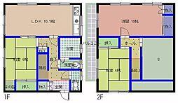 [一戸建] 茨城県水戸市双葉台5丁目 の賃貸【茨城県 / 水戸市】の間取り