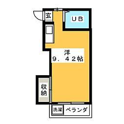 KSハイツ[2階]の間取り