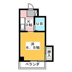 メゾン一社[1階]の間取り