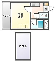 KM今川ビル[3階]の間取り