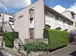 東京都大田区大森東3丁目の賃貸アパートの外観