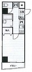 東京都中央区日本橋蛎殻町2丁目の賃貸マンションの間取り