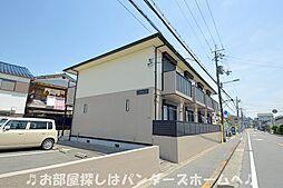 大阪府枚方市伊加賀本町の賃貸アパートの外観