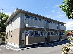 山口県山陽小野田市大字山野井の賃貸アパートの外観