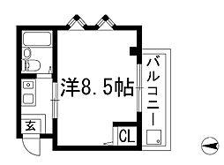 PALO箕面[2階]の間取り