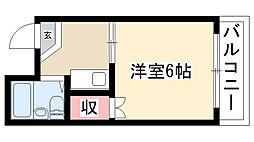 愛知県名古屋市南区観音町2丁目の賃貸アパートの間取り