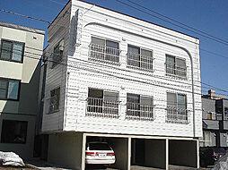 北海道札幌市東区北十二条東14丁目の賃貸アパートの外観