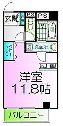 ルフレ堺[3階]の間取り