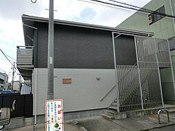 サニーヒルズ生駒[2階]の外観