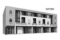 茨城県日立市鮎川町5丁目の賃貸アパートの外観