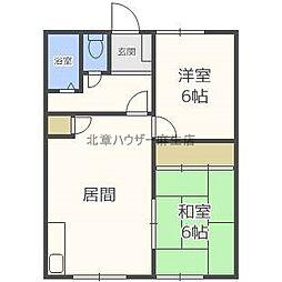 第7グリーンマンション[1階]の間取り