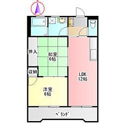 アーバンコートI[2階]の間取り