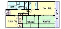 CALMO姫路東[2階]の間取り