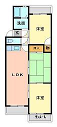 大谷ヒルズA/B棟[1階]の間取り